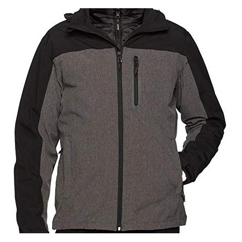 00673cca54d58 If you think of versatility, the 3-in-1 zip-front jacket is here for the  taking. It's warm and can be worn in so many ways. It adopts the  traditional ...